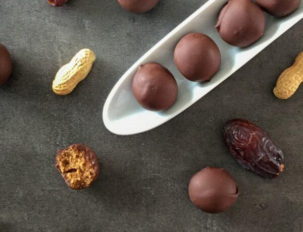 Energy balls au beurre de cacahuètes - Recette Cuisine en Équilibre